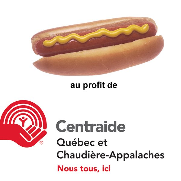 hot-dog à 1 $ au profit de Centraide