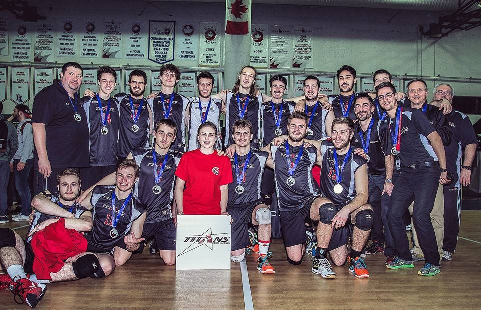 Titans volley masculin division 1 championnat canadien