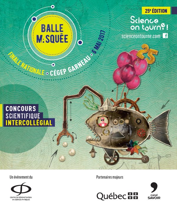 Science, on tourne! 2017 affiche