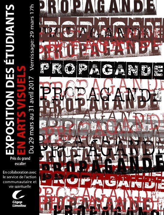 Affiche Exposition Propagande