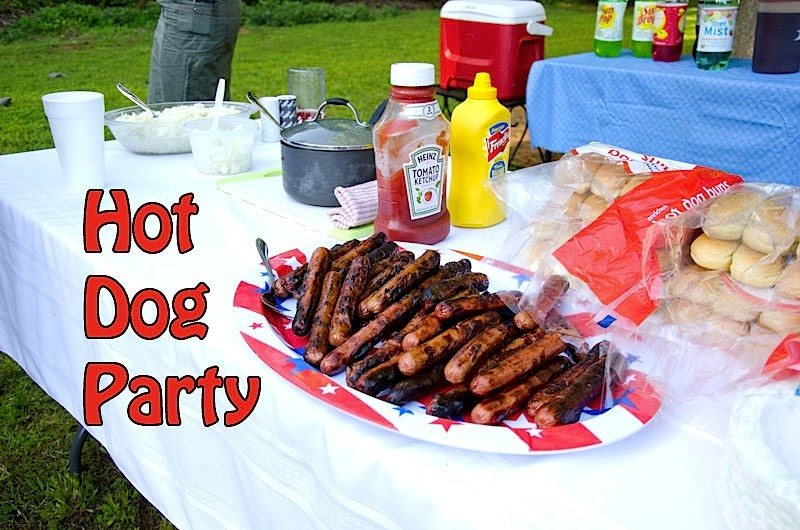 Party hot-dog