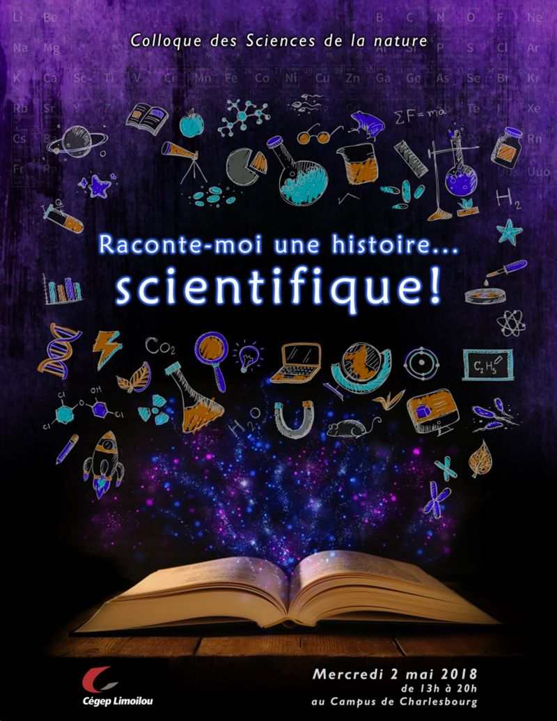 Affiche Sciences de la nature colloque 2018