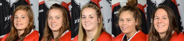 Recrues universitaires fille hockey
