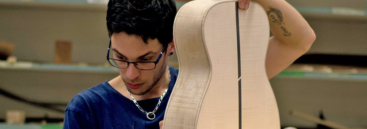 Lutherie, profil Guitare