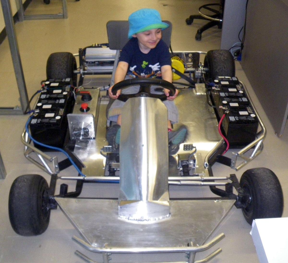 Kart électrique · kart électrique