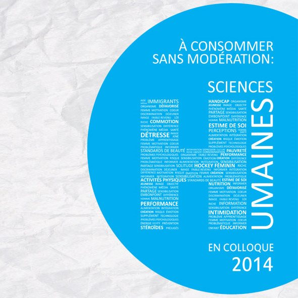 Logo Colloque de DIASH, Sciences humaines 2014