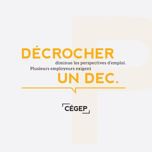 Décrocher un DEC